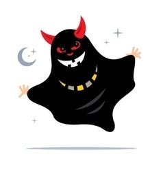 Smile Ghost Cartoon vector image