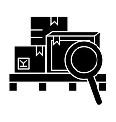 warehouse icon sign o vector image