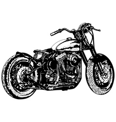 Motorcycle 3 vector image