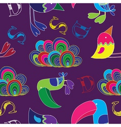 Toucan  birds vector