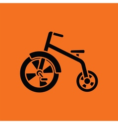 Baby trike ico vector image