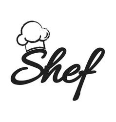 Shef logo vector