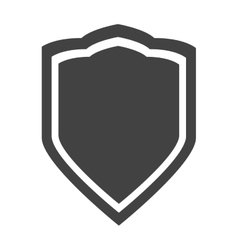 Shield protection insignia security privacy vector