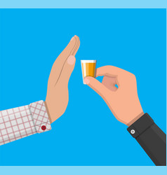 Alcohol abuse concept vector