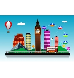 London city background vector