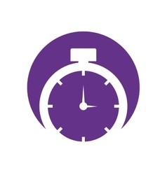 Clock time watch timer symbol vector