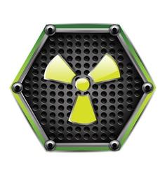 danger zone vector image vector image