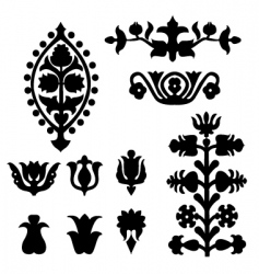 elements vector image vector image