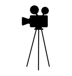 film video camera icon vector image vector image
