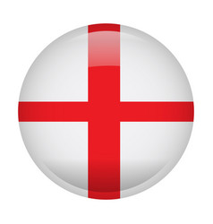 Isolated flag of england vector