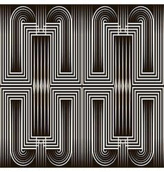 Seamless art deco pattern ornament vector image vector image