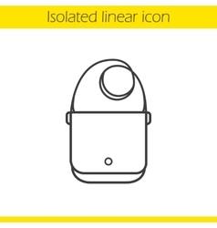 Shoulder bag icon vector image vector image