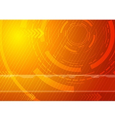 Sunburst - technology background vector