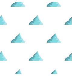 Iceberg pattern flat vector