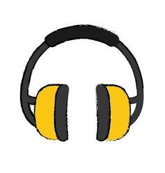 Industial earmufss equipment vector