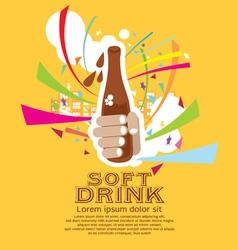 Soft Drink EPS10 vector image