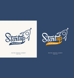 start up business infographics vector image vector image