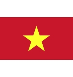 Vietnam flag image vector