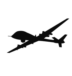 Weapon drones vector