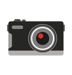Camera photographic digital icon vector