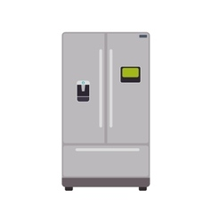 Fridge supply house electric appliance icon vector