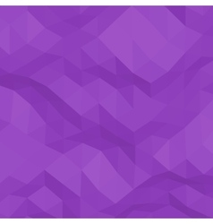 Purple abstract triangular background vector
