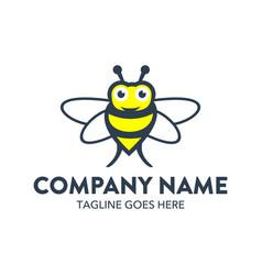 Bee logo-12 vector