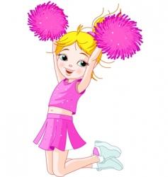 Cheerleading vector