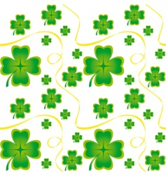 Irish seamless pattern vector image vector image