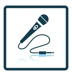 Karaoke microphone icon vector image vector image