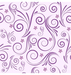 Seamless swirl purple vector