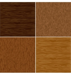 Set wood seamless backgrounds vector image vector image