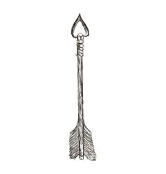 Sketch Arrow icon Direction design vector image vector image