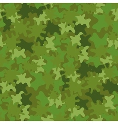 Camouflage seamless background woodland style vector