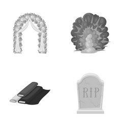 Wedding purchase and other monochrome icon in vector