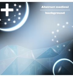 Medical bacground vector
