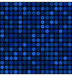 Blue abstract seamless background with bubbles vector