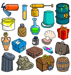 Cartoonish objects vol 3 vector