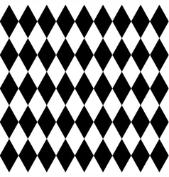 Tile black and white background pattern vector