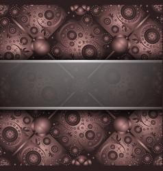 Rustic anniversary invitation vector image