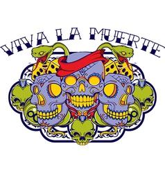 Viva la muerte vector