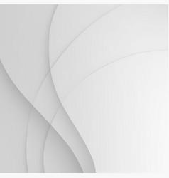white elegant business background wave vector image