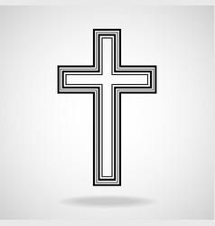 Cross christian symbol eps vector