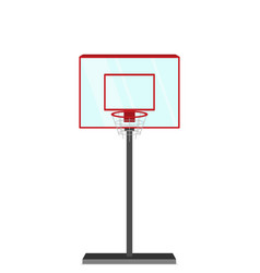 Flat style basketball game vector