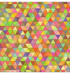 Seamless texture of colored triangles vector