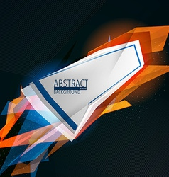 futuristic abstract lines background vector image