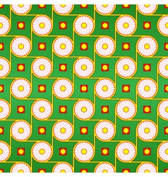 seamless pattern circles vector image