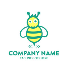 Bee logo-13 vector