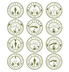 Noodling label set vector