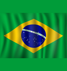 Flag of brazil brazilian national symbol vector
